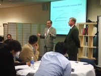 folsom wimax presentation to executives from intel japan, mitsubishi research institute and iri ubiteq